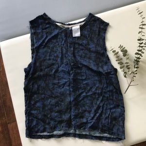 Anthropologie Dolan distressed shirt